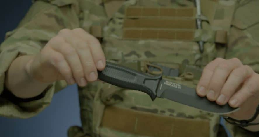 Gerber StrongArm 420 High Carbon Stainless Steel Fixed Blade Survival Tactical Knife