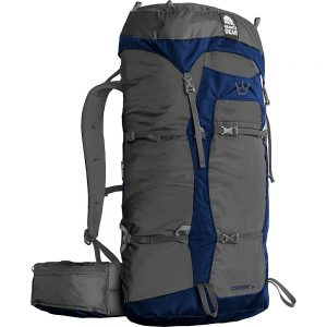 Granite Gear Crown2 38L Hiking Pack Flint/Midnight Blue - Granite Gear Backpacking Packs