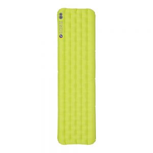 Big Agnes Q Core SLX Sleeping Pad Lime Green - Petite - Big Agnes Outdoor Accessories
