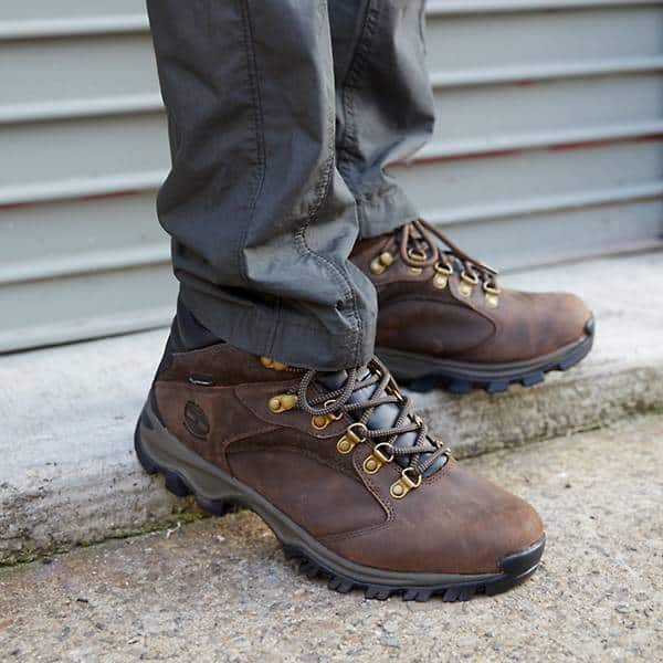 Timberland Men's Rock Rimmon Waterproof Hiking Boots