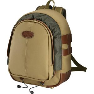 Billingham Rucksack 25 (Khaki Canvas/Tan Leather)