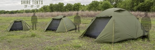 12 Survivors RA43920 6-Person Shire Tent