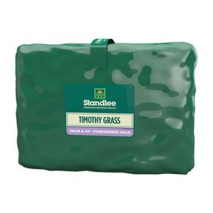 Standlee Premium Western Forage Timothy Grass Compressed Bale For Horses 50 lb.