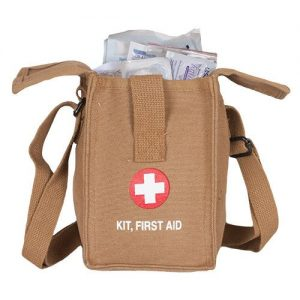 FoxOutdoor 57-848 Platoon First Aid Kit, Coyote