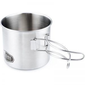 GSI Outdoors Glacier Stainless Steel Bottle Cup and Pot Silver - Camp Food And Cookware at Academy Sports