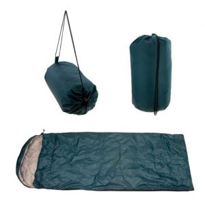 2 Moda 2322966 77 x 28 in. 0.7 kg Lightweight Hooded Sleeping Bags, Olive - 10 Per Pack - Case of 10