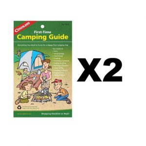 Coghlans First Time Camping Guide 32-Page Family Instruction Manual (2-Pack)