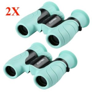 2Pcs Compact Kids Binoculars High Resolution Real Optics For Bird Watching TO