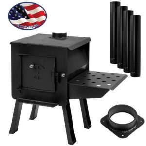 """BLACKBEAR"" Portable Camp/Cook Wood Stove Kit"""