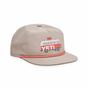 YETI Coastal Camper Rope Hat - Tan