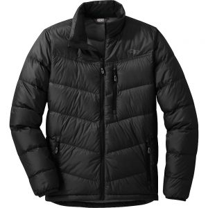 Outdoor Research Men's Transcendent Down Jacket - Small - Black