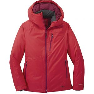 Outdoor Research Women's Floodlight II Down Jacket - Small - Teaberry