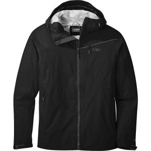 Outdoor Research Men's Interstellar Jacket - Small - Black / Charcoal