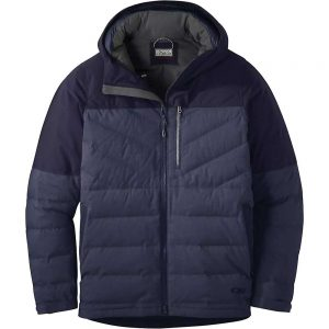 Outdoor Research Men's Blacktail Down Jacket - Small - Naval Blue / Ink