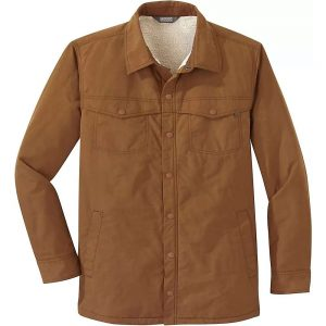 Outdoor Research Men's Wilson Shirt Jacket - Small - Saddle