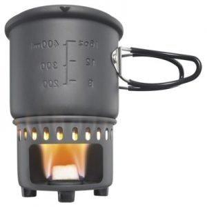 Esbit Solid Fuel Camp Stove Cookset