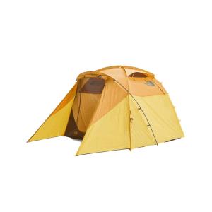 The North Face Wawona 4 Tent - Golden Oak/Saffron Yellow 4 Person