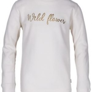 Outdoor Kids Wild Flower Graphic Crew Thermal Long-Sleeve Shirt for Toddlers or Girls - Pristine - S