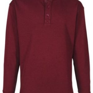 RedHead Thermal Henley Long-Sleeve Shirt for Men - Wine Heather - 2XLT