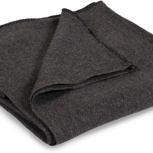 Stansport Wool Blanket, Gray