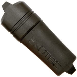 Exotac Fire Starters 5005BLK Exotac Fire Starter Firesleeve Lighter Case Black