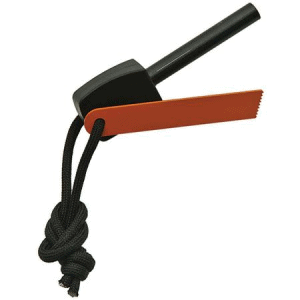 China Made 211392 Fire Starter with Black Cord Lanyard