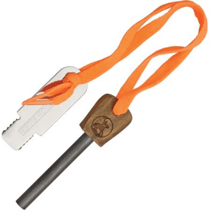 Rough Rider 1041 Fire Starter With Brown Wood Handle